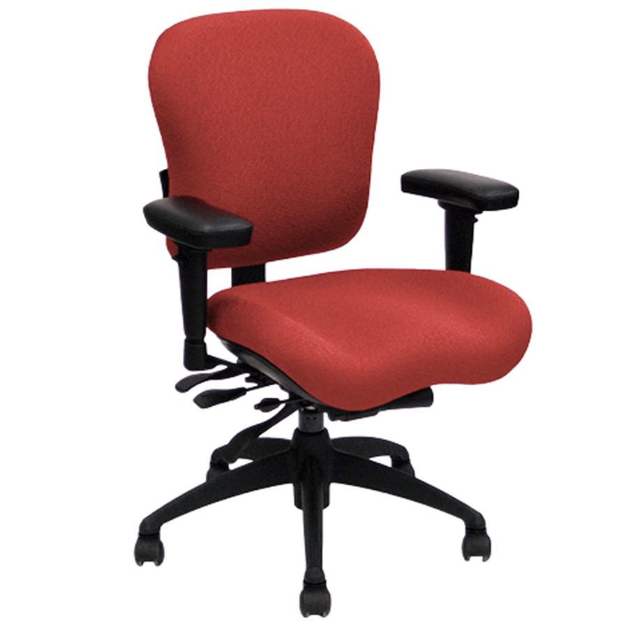 Lifeform Eclipse Deluxe Mid-Back 6694 Management Chair - Wish Rock Relaxation