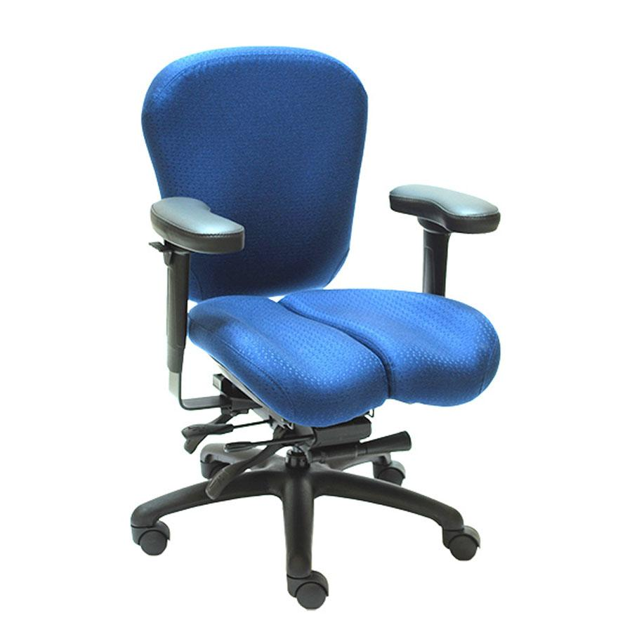 Management Chair - Lifeform Eclipse Deluxe Mid-Back 6694 Management Chair