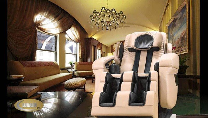 Luraco iRobotics i7 PLUS Massage Chair - Wish Rock Relaxation