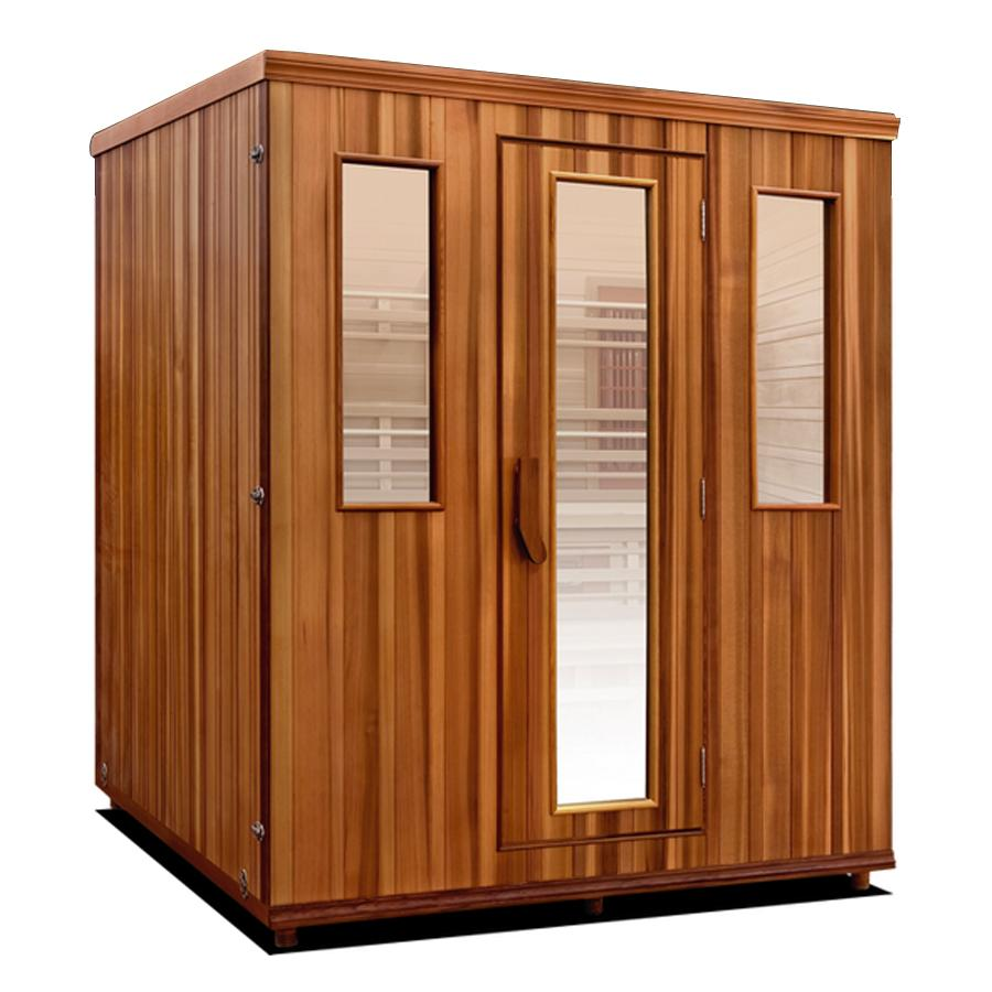 Health Mate Elevated Health Full Spectrum Sauna - Wish Rock Relaxation