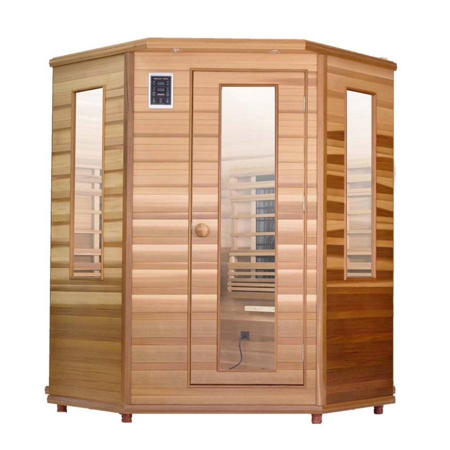 Health Mate Enrich Corner Full Spectrum Sauna - Wish Rock Relaxation