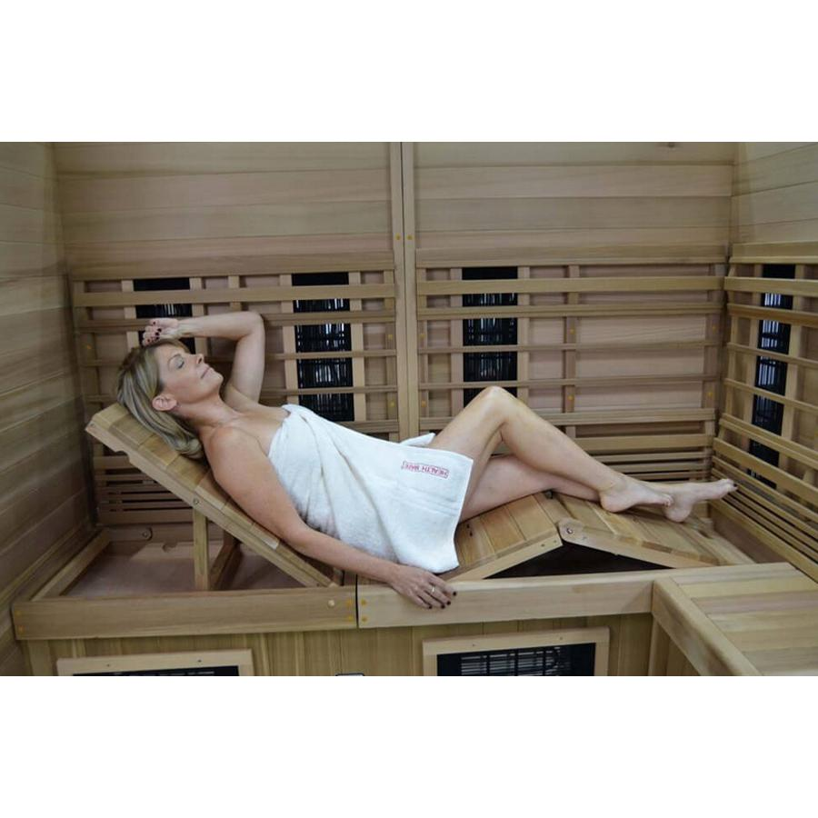 Health Mate Therapy Lounge Full Spectrum Sauna - Wish Rock Relaxation