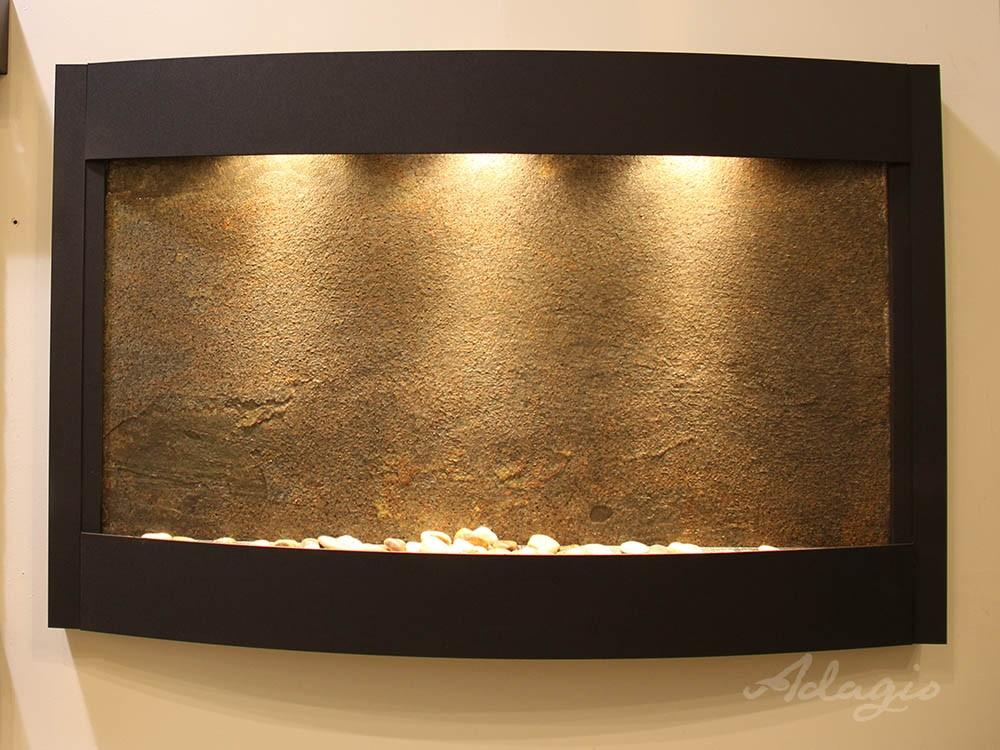 Adagio Calming Wall Water Fountain - Wish Rock Relaxation