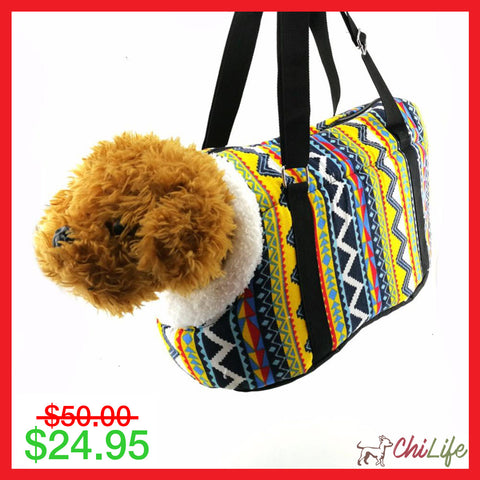 Cozy Soft Carrier for Small Dogs with Plush - NEW!