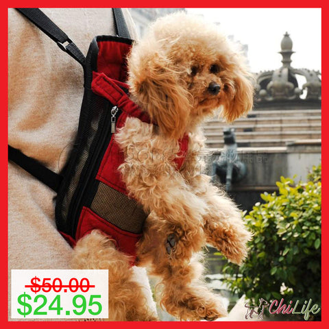 Hands Free Travel Backpack For Small Dogs