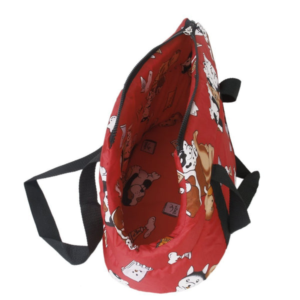 Red Soft Carrier for XS and Small Dogs