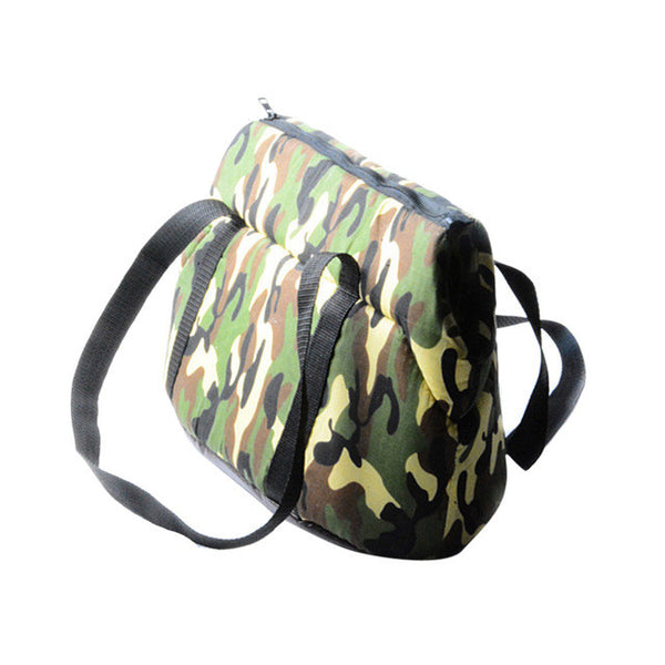 Cozy Camo Soft Bag Carrier for Small Dogs - NEW!