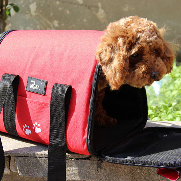 Easy Carry Pet Carrier Handbag for Small Dogs