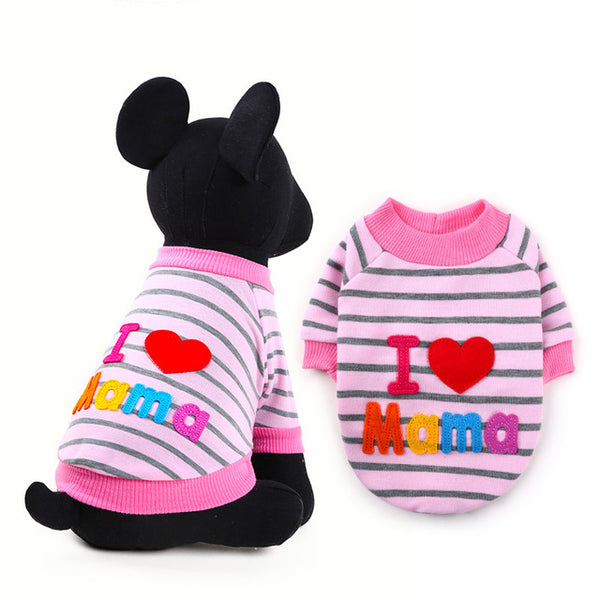 I Love Mama/ I Love Papa Hoodies and Sweaters- NEW