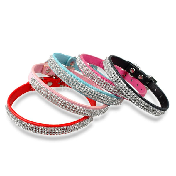 Rhinestone Collar for Small Dogs - NEW!