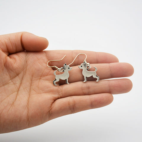 Chihuahua Dangle Earrings