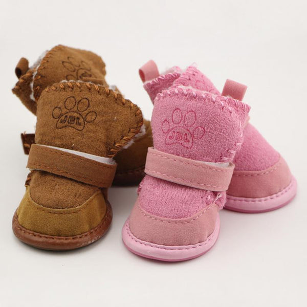 Winter Boots for Dogs / 4pc Set