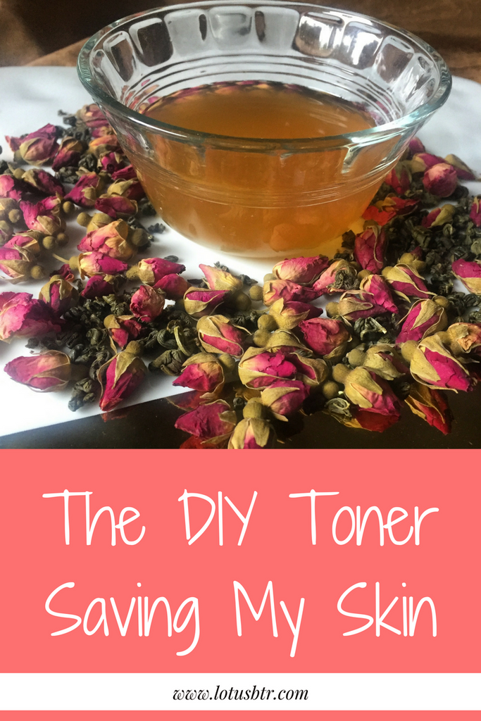 The Toner That's Saving my Skin + DIY RECIPE!