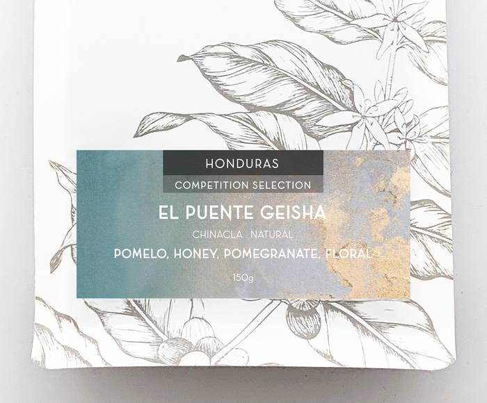 COMPETITION SELECTION: EL PUENTE GEISHA 150g