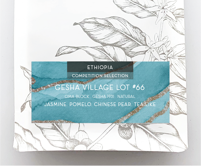 "GESHA VILLAGE ""LOT 66"" OMA BLOCK G31 NATURAL<br> ETHIOPIA"