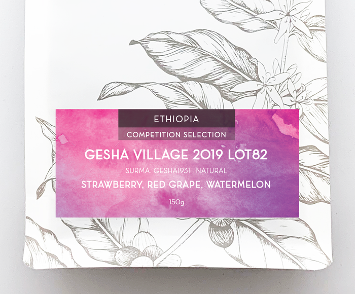 COMPETITION SELECTION: GESHA VILLAGE 2019 LOT #82 150g