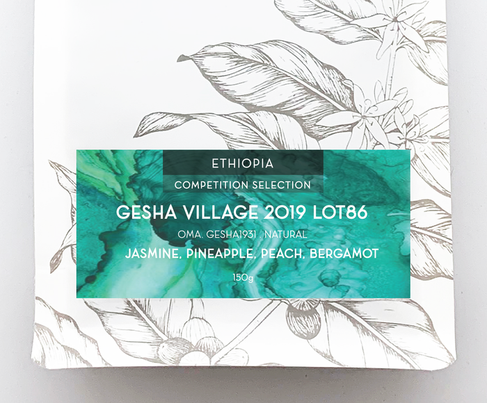 COMPETITION SELECTION: GESHA VILLAGE 2019 LOT #86 150g