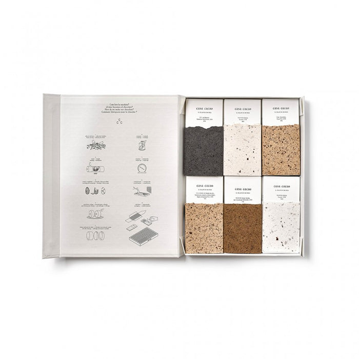 "casa cacao: Box of Twelve Bars <br>""Casa Cacao Collection"""