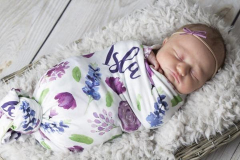 Modena Wildflower - Swaddle Blanket