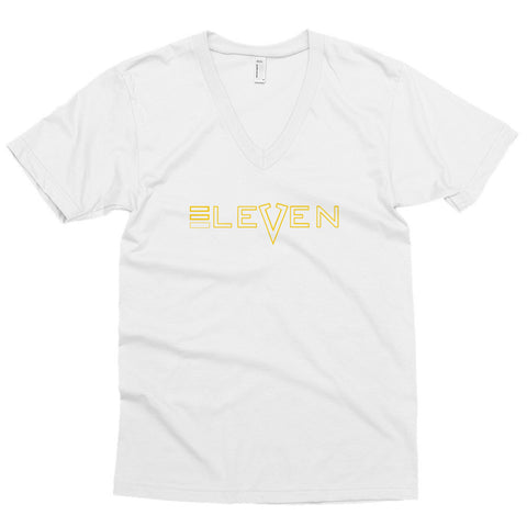 Men's short sleeve v-neck-Eleven LLC