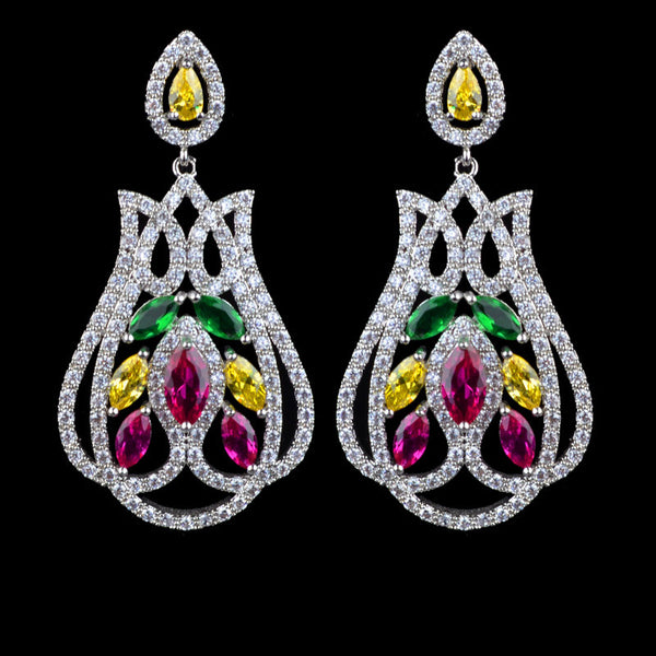 Sophia Piper Cubic Zirconia Earrings