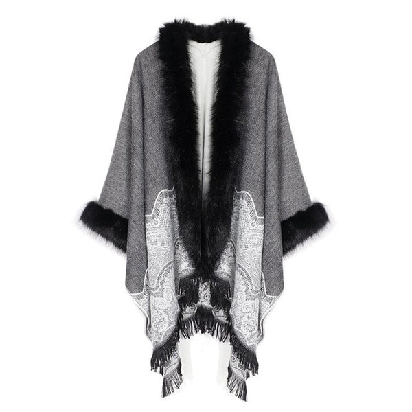 Kelly Oakland Cape Shawl