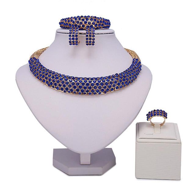 Claudette Brown Jewelry Set