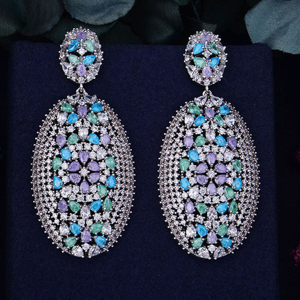 Crystal Valencia Earrings