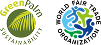 GreenPalm & World Fair Trade Organization Certification Icons