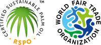 RSPO & World Fair Trade Organization icons