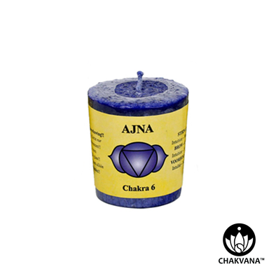 Third Eye Chakra Ajna Chakra Votive Candle