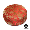 Meditation Cushion | Red and Gold Lotus
