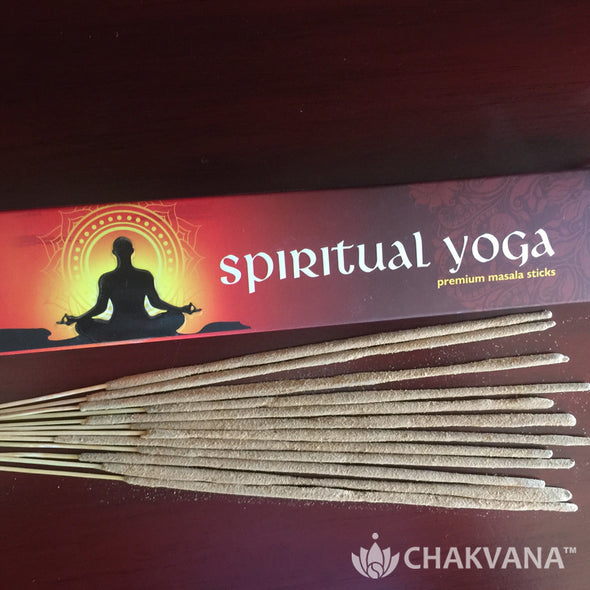 Spiritual Yoga Premium Hand Rolled Masala Incense Sticks