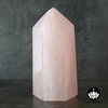 Rose Quartz Crystal Point (High Quality from Madagascar) - 710 grams