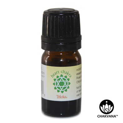 "Triloka 100% Pure Essential Oil ""Heart Chakra"""
