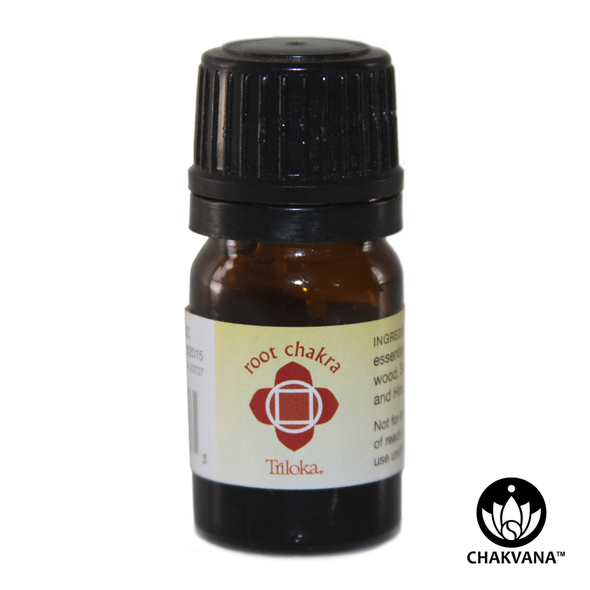 "Triloka 100% Pure Essential Oil ""Root Chakra"""