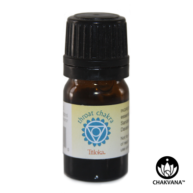 "Triloka 100% Pure Essential Oil ""Throat Chakra"""