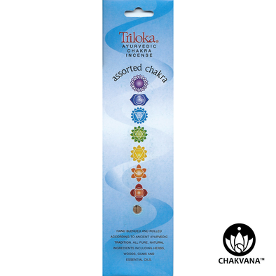 Triloka Chakra Incense Sticks Assorted 7 Chakras