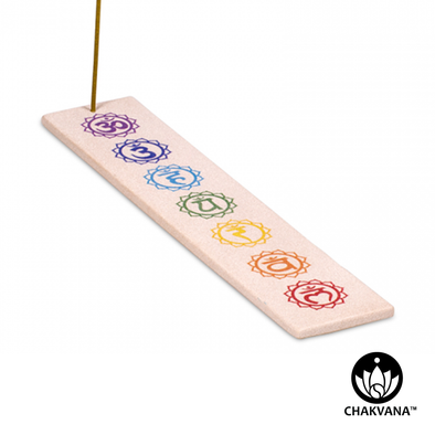 Sandstone Incense Burner | 7 Chakras