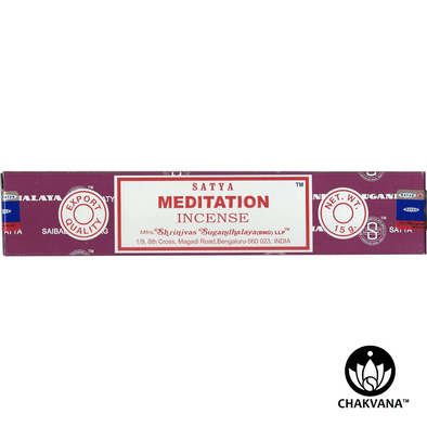 Satya Meditation Incense 15g Box