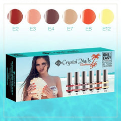 One Step Easy gel polish collection - Caribbean life