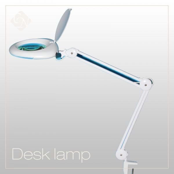 Magnifying Desk Lamps (5 dioptre) - Crystal Nails US