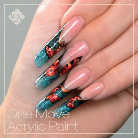 One Move Acrylic Paint 0.27 fl oz - Crystal Nails US