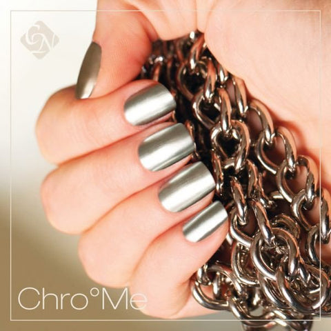Chro°Me CrystaLac 0.14 fl oz - Crystal Nails US