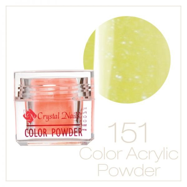 Neon Crystal powder 0.25 oz - Crystal Nails US