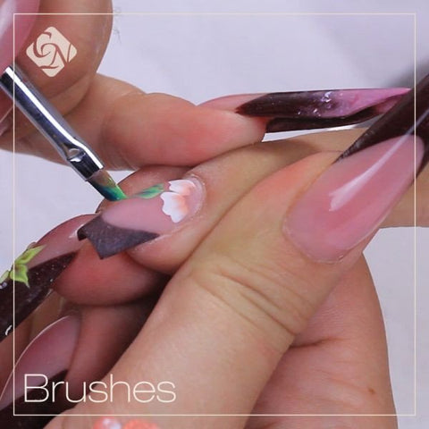 Nail Art Brushes - for Beginners - Crystal Nails US