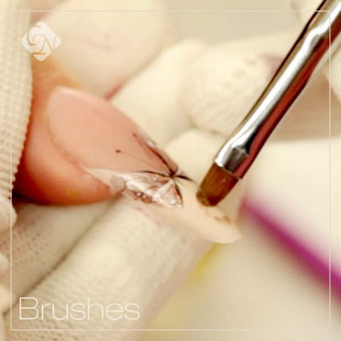 Gel Brushes - for Beginners - Crystal Nails US