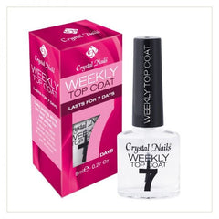 Weekly Top Coat 0.27 fl oz - Crystal Nails US