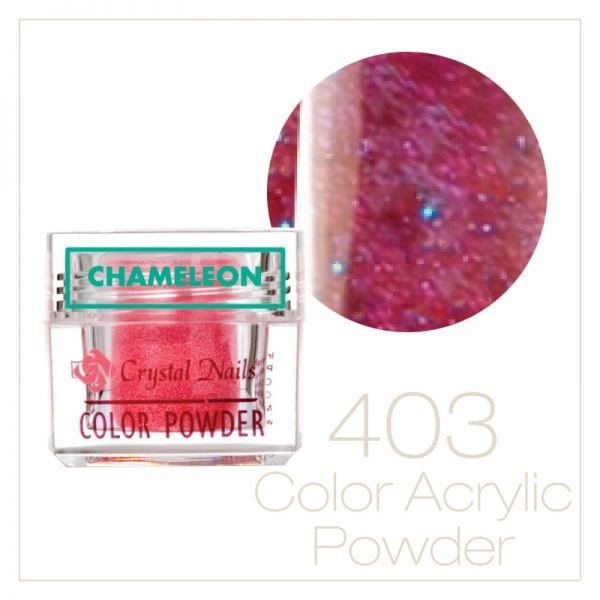 Chameleon - Rainbow powder 0.25 oz - Crystal Nails US