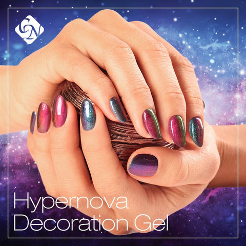 Hypernova decoration gel - Crystal Nails US